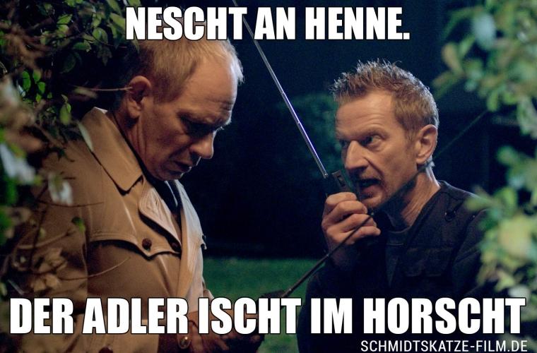 Der Adler ischt im Horscht - Kinofilm Schmidts Katze